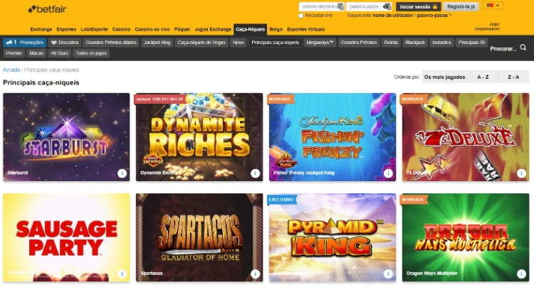 betfair-casino screenshot