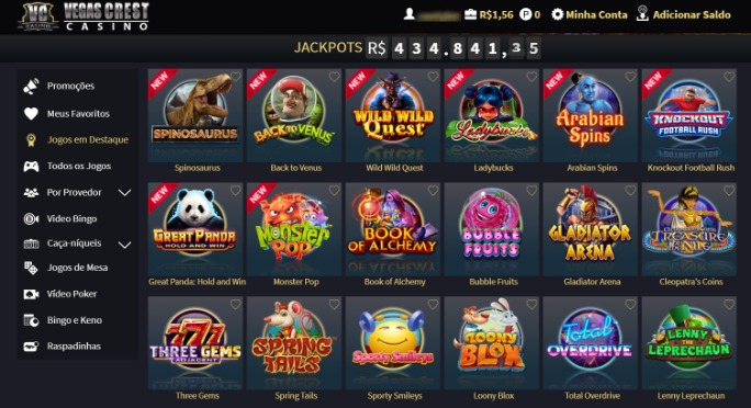 vegas-crest-casino screenshot